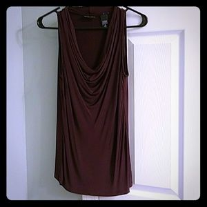 Stunning plum New York and company chemise